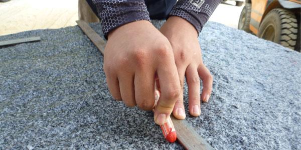 大島石検品